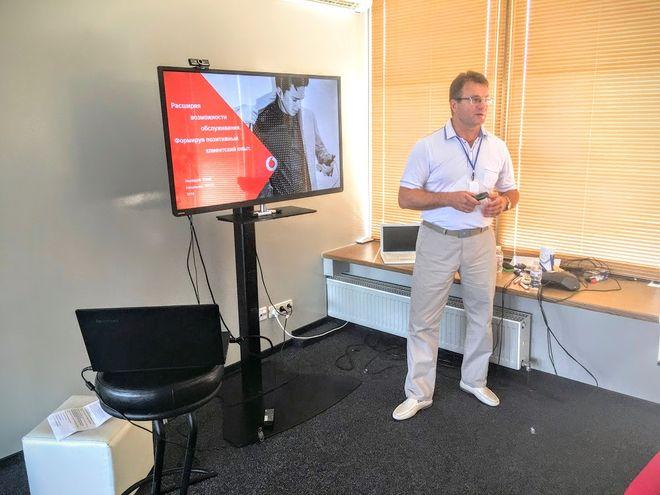 Начальник отдела по работе с письменными обращениями Vodafone Юрий Несведов