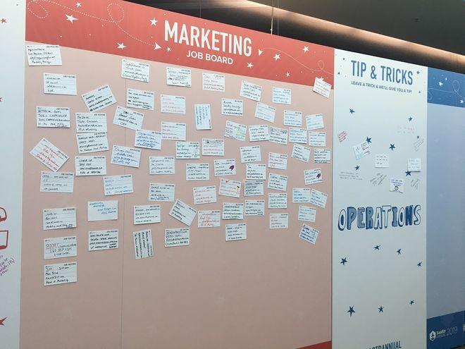 Marketing job board