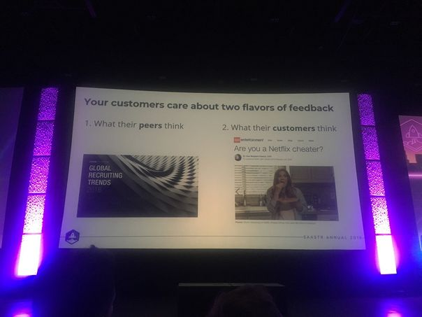 Use feedback for user-generated content