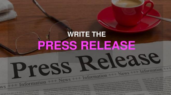 Write the press-release