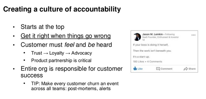 Creating a culture oa accountability