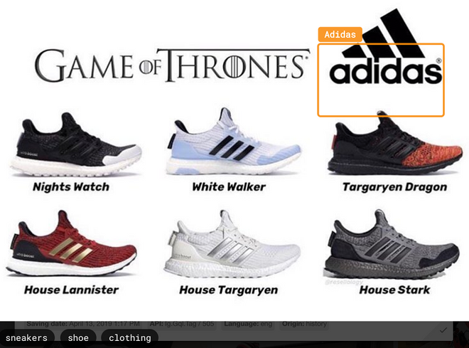 Game of Thrones 8. Adidas
