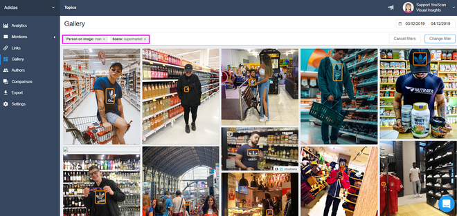 Visual Insights Customer Personas with Filters