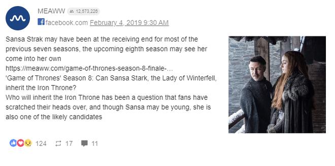 Game of Thrones 8. Sansa