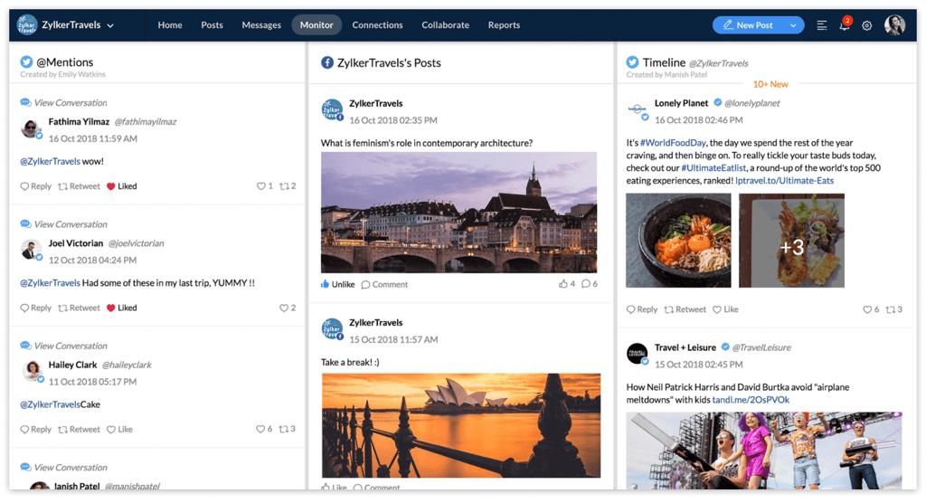 Top 10 Twitter Monitoring Tools - Zoho Social