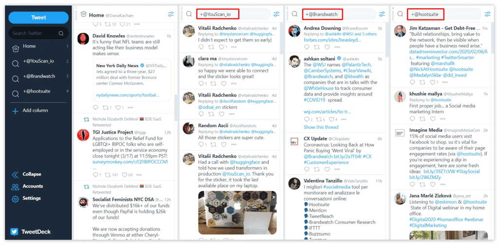 Top 10 Twitter Monitoring Tools - TweetDeck