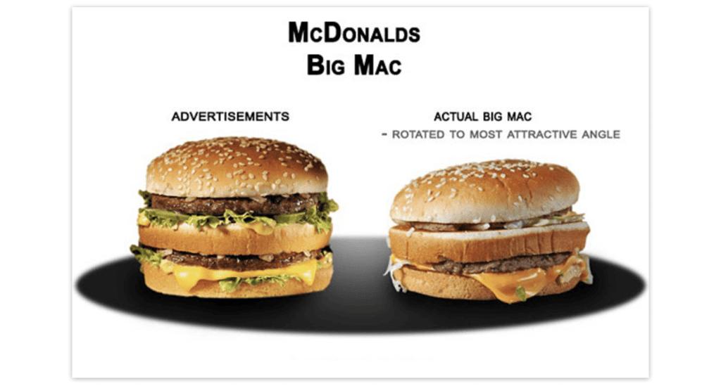 Девять лет назад эта картинка убедила McDonald's тщательнее следить за качеством работы