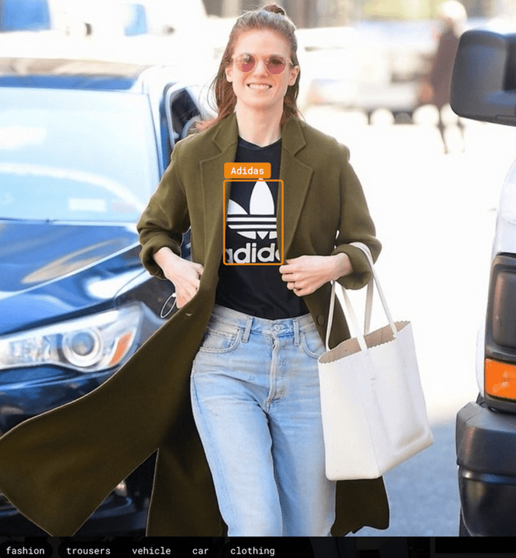 Adidas and Rose Leslie