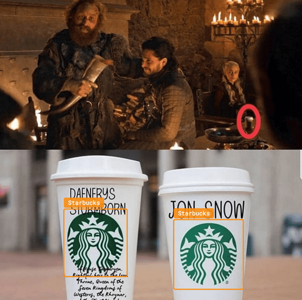 Starbucks and Game of Thrones