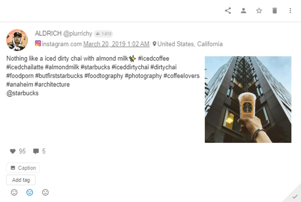Starbucks - Instagram Post - Architecture