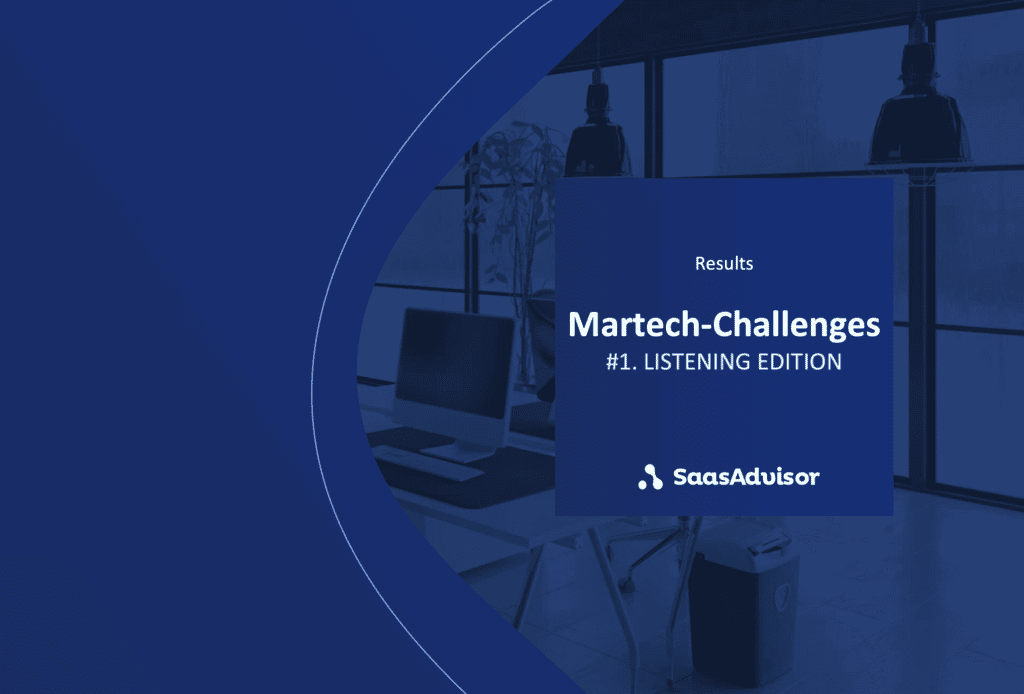 [Report] Martech-Challenges report for Social Media Listening