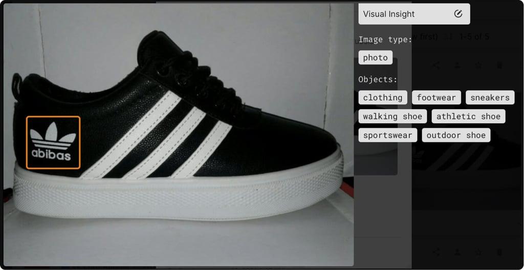 Подделка Adidas